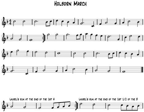 Holborn March