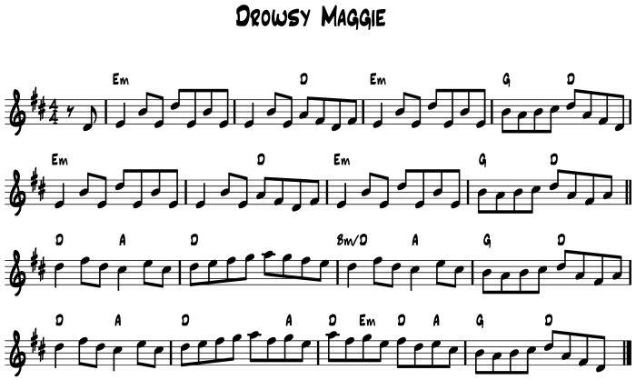 Drowsy Maggie | Laurel Swift Folk Music Tuition