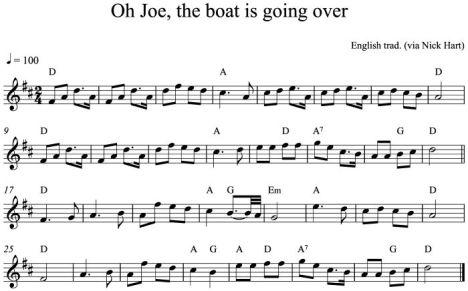 Oh Joe, the boat (NH)