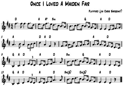 Once I Loved A Maiden Fair
