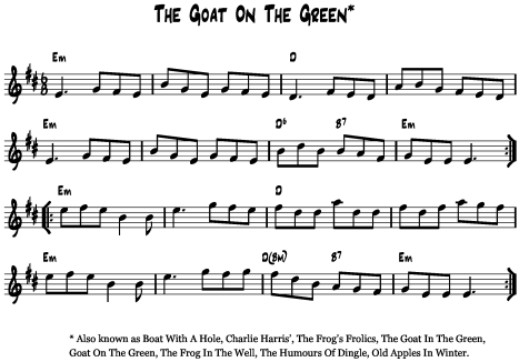 Goat on the Green