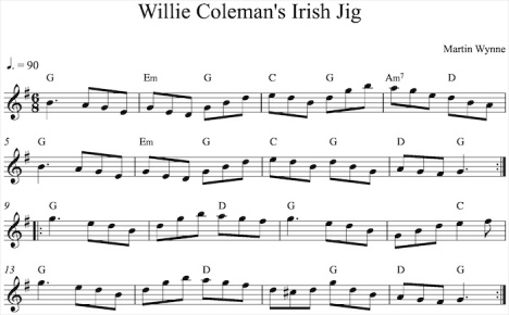 Willie Coleman's Irish Jig-1