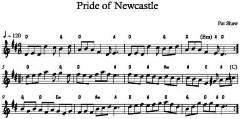 Pride of Newcastle LS Chords