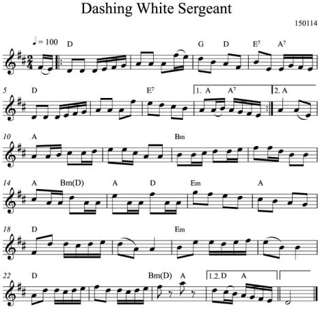 Dashing White Sergeant
