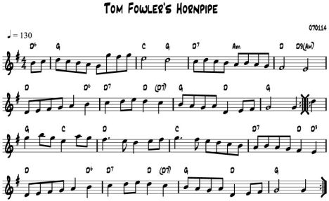 Tom Fowler's HP chords