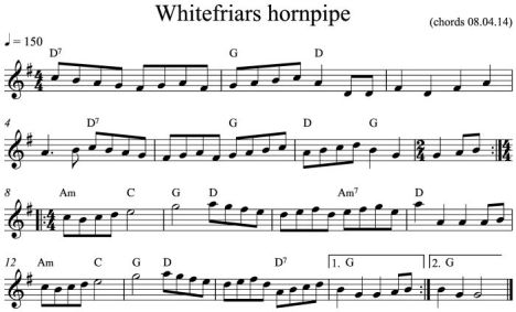 Whitefriars hornpipe