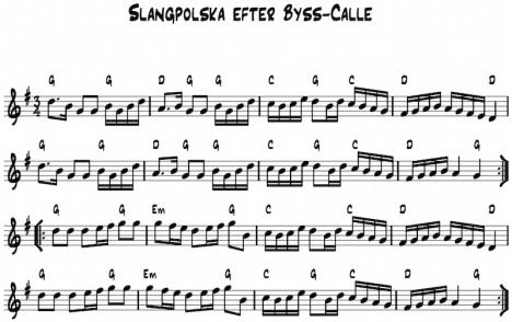 Slanspolska after Byss Kalle