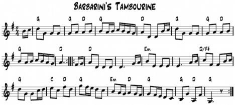 Barbarinis Tamborine