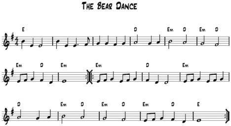 bear-dance